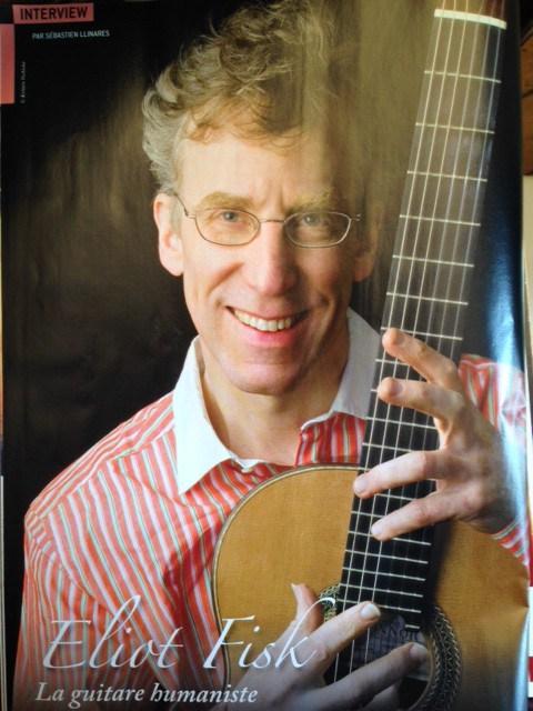 Interview d'Eliot fisk dans Guitare Classique n°69